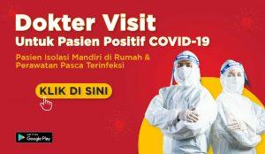 layanan dokter visit untuk pasien covid-19