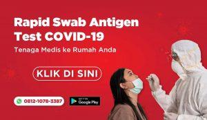 Medi-Call: Rapid Swab Antigen ke lokasi Anda