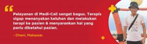 banner testimonial fisioterapi Medi-Call